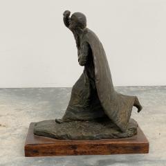 Vintage Italian Bronze Statue of A Man - 1570960