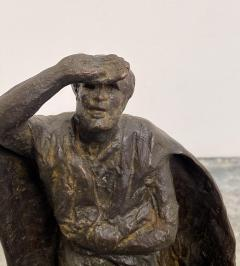 Vintage Italian Bronze Statue of A Man - 1570965