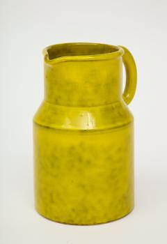 Vintage Italian Ceramic Pitcher Large - 1864858