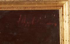 Vintage Jean Appleton Australian Oil Painting or a Gentleman - 2142243