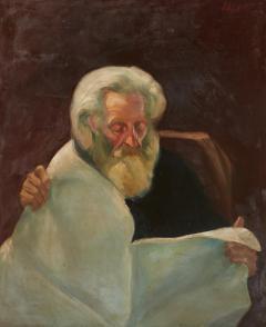 Vintage Jean Appleton Australian Oil Painting or a Gentleman - 2142244