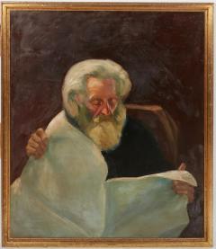 Vintage Jean Appleton Australian Oil Painting or a Gentleman - 2142245
