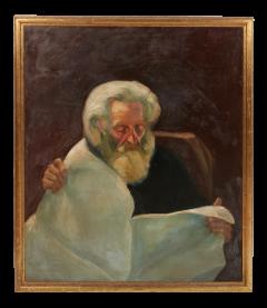 Vintage Jean Appleton Australian Oil Painting or a Gentleman - 2142257