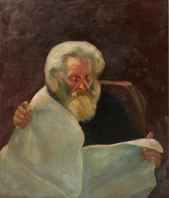 Vintage Jean Appleton Australian Oil Painting or a Gentleman - 2144908