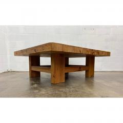 Vintage Jens Lyngsoe Solid Pine Coffee Table - 1692108