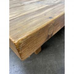 Vintage Jens Lyngsoe Solid Pine Coffee Table - 1692111