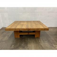 Vintage Jens Lyngsoe Solid Pine Coffee Table - 1692113