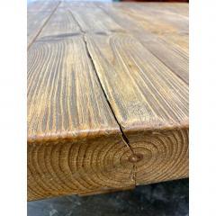 Vintage Jens Lyngsoe Solid Pine Coffee Table - 1692118