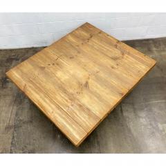 Vintage Jens Lyngsoe Solid Pine Coffee Table - 1692126