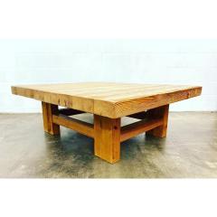 Vintage Jens Lyngsoe Solid Pine Coffee Table - 1692140