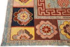 Vintage Khotan Style Tribal Wool Rug - 1558415