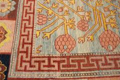 Vintage Khotan Style Tribal Wool Rug - 1558417