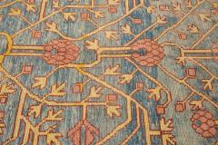 Vintage Khotan Style Tribal Wool Rug - 1558418