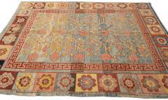 Vintage Khotan Style Tribal Wool Rug - 1558419