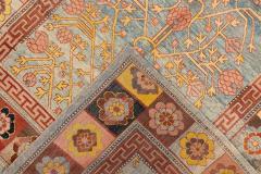 Vintage Khotan Style Tribal Wool Rug - 1558420