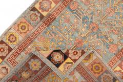 Vintage Khotan Style Tribal Wool Rug - 1558421