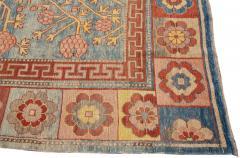 Vintage Khotan Style Tribal Wool Rug - 1558423