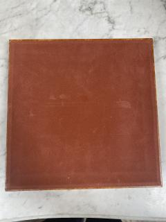 Vintage Leather Chess Board Italy 1960s - 2111680