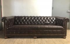 Vintage Leather Chesterfield Sofa - 1040442