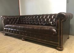 Vintage Leather Chesterfield Sofa - 1040443