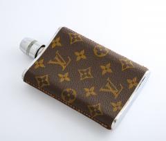 Vintage Louis Vitton Hip Flask - 2141274