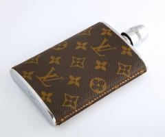 Vintage Louis Vitton Hip Flask - 2141285