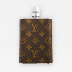 Vintage Louis Vitton Hip Flask - 2145033