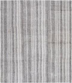 Vintage Mid Century Modern Flatweave Rug - 1339599
