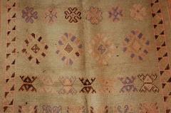 Vintage Moroccan Berber Tribal Rug circa 1960 - 338569
