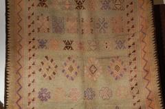 Vintage Moroccan Berber Tribal Rug circa 1960 - 338570