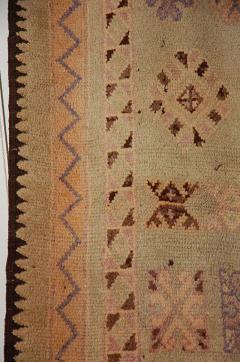 Vintage Moroccan Berber Tribal Rug circa 1960 - 338572