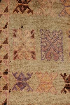 Vintage Moroccan Berber Tribal Rug circa 1960 - 338574