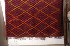 Vintage Moroccan Large Pile Purple Rug - 338563