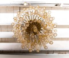 Vintage Murano Tube Glass Chandelier - 1066643