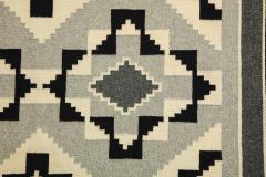 Vintage Navajo Woven Carpet Saddle Blanket - 937157