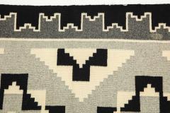 Vintage Navajo Woven Carpet Saddle Blanket - 937158