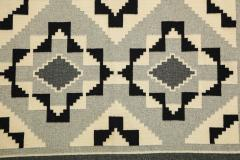 Vintage Navajo Woven Carpet Saddle Blanket - 937159