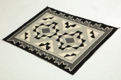 Vintage Navajo Woven Carpet Saddle Blanket - 937163