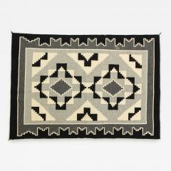 Vintage Navajo Woven Carpet Saddle Blanket - 938011