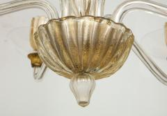 Vintage Over sized Six Arm Murano Chandelier - 1067595