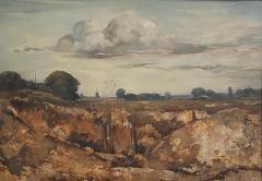 Vintage Painting WIllem Van Den Berg Landscape - 1637266