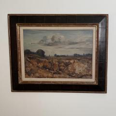 Vintage Painting WIllem Van Den Berg Landscape - 1637267