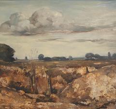 Vintage Painting WIllem Van Den Berg Landscape - 1637269