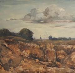 Vintage Painting WIllem Van Den Berg Landscape - 1637270