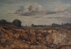 Vintage Painting WIllem Van Den Berg Landscape - 1637604