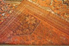 Vintage Persian Qashqai Carpet - 1180190