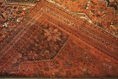Vintage Persian Qashqai Carpet - 1180192