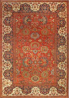 Vintage Persian Sultanabad Carpet - 1124390