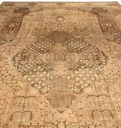 Vintage Persian Tabriz Rug - 485361