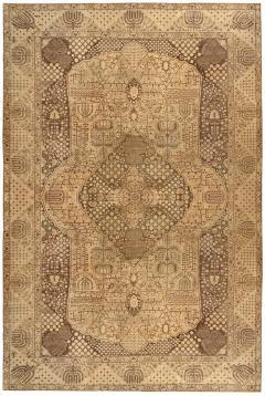 Vintage Persian Tabriz Rug - 485364